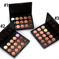 15 Color 3 Set Model Makeup Face Contour Kit Highlight Concealer Palette Bronzer