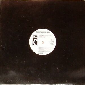 VARIOUS ARTISTS 'STAX RADIO PROMOTION ONLY' GERMAN IMPORT WHITE LABEL PROMO LP