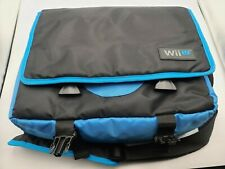 Nintendo Wii U Discontinued Official Carrying Case Travel Bag Rocketfish RARE