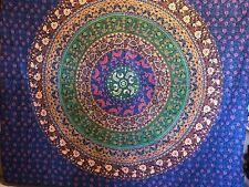 Chakra / Galaxy Mandala Indisch Tagesdecke Wandbehang Yoga Deko Tuch 210 X 230cm
