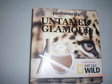 purminerals Untamed Glamour  Kit - Full size mascara, bronzer,eye liner, BN boxe