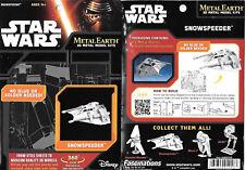 Star Wars Snowspeeder Metal Earth 3-D Laser Cut Steel Model Kit #MMS258 NEW