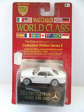 Matchbox Superfast 43e Mercedes Benz 500SEC - White - World Class Series - MoC