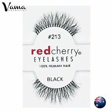 RED CHERRY Lashes #213 BRAND NEW 100% Human Hair AUS Seller