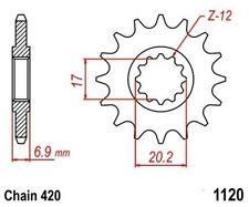 TMP Pignon Sortie Boite Avant 13 Dents GENERIC Trigger 50 SM Compet 2008-2009