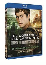 PACK EL CORREDOR DEL LABERINTO + LAS PRUEBAS BLU RAY NUEVO ( SIN ABRIR ) 2 DISCO