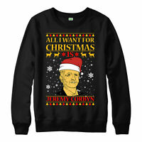 All I want for christmas is Jeremy Corbyn British politician festive Jumper Top