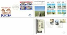 Netherlands Stamps - 4 First Day Covers from 1980s -  Churchill & Wilhelmina 50