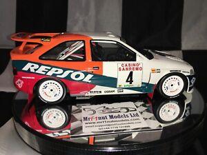 1:18 Otto #844 Carlos Sainz Ford Escort RS Cosworth #4 San Remo Rally 1996