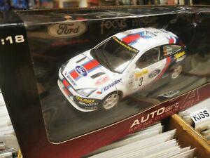 2001 Ford Focus WRC #3 MOYA / SAINZ 1/18 AUTOart. FREE UK POSTAGE.