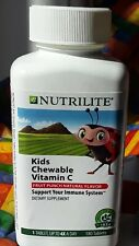 Amway Nutrilite Kids Chewable Vitamin C (180(Chewable for 180 Days NSF Certified
