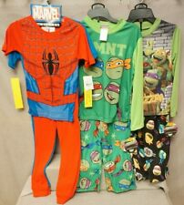 4 PIECE SETS SIZE 8 OR TURTLES MARVEL 2 PIECE SETS SIZE 8 /& 4 BNWT