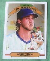 Aaron Nola Diamond Kings 2019 Donruss Optic Baseball - Philadelphia Phillies