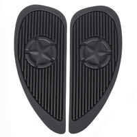 2Pcs Universal Gas Fuel Tanks Traction Pads Side Knee Grip Protector Sticker N