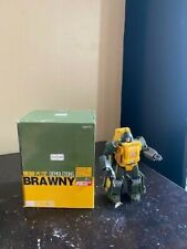 Badcube Brawny Transformers Masterpiece Brawn