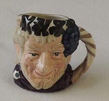 Royal Doulton Character Toby Jug Bacchus Miniature D6521