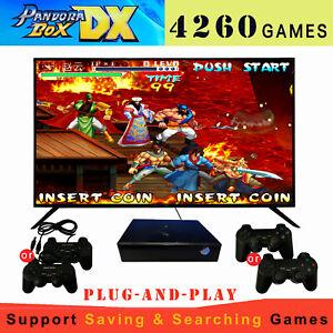 4260 Games Mini TV Video Arcade Pandora Box DX with Gamepad Controllers Joystick
