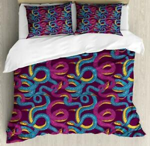 Animal Art Duvet Cover Set Twin Queen King Sizes with Pillow Shams