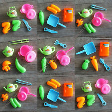 2 Sets Education Mini Kitchen Cooking Pretend Play Toy Kids Play sets Party Gift