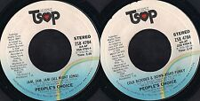 DISCO 45 Giri  People's Choice - Jam, Jam, Jam / Cold Blooded & Down-Right-Funky