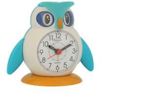 Eule Wecker für Studenten Kinder Bett Snooze Function Clock mit Soft Cute NEU