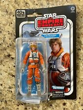 Star Wars Black Series ESB 40th LUKE SKYWALKER Snowspeeder Pilot Figure Not Mint