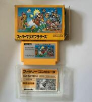 Super mario bros / FC NES Nintendo Famicom software Japanese version