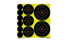 New! Birchwood Casey Shoot-N-C Round Target (Pack of 12), 1/2/3-Inch 34608