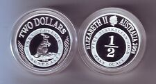 2003 SILVER Proof $2 Kangaroo Coin Port Phillip ex Masterpieces Set --