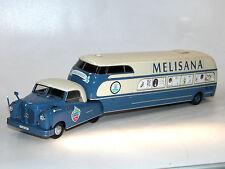 AutoCult 11002 Buhne Mercedes-Benz L312 Sattelzug MELISANA, 1956, 1/43