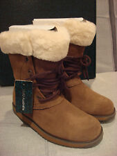 EMU AUSTRALIA WOMEN'S SHAW LO BOOTS SHOES OAK CHENE SIZE 5 - BRAND NEW