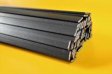 Kunststoffschweißdraht ABS 8mm Band schwarz 10x200mm 2 Meter Schweissdraht ABS