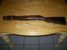 Russian SKS wood  stock for blade bayonet  hardware   refinished no serial #