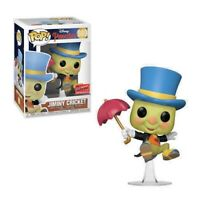 JIMINY CRICKET NYCC 2020 CONVENTION EXCLUSIVE FUNKO POP PINOCCHIO #980 PRE ORDER