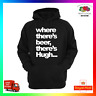 Where Theres Beer Theres Hugh Hoodie Hoody Party Stag Birthday Xmas Drinking
