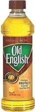 NEW OLD ENGLISH 16OZ BOTTLE NATURAL LEMON OIL FURNITURE POLISH PROTECTOR 6047260