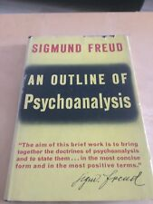 An Outline Of Psychoanalysis Sigmund Freud 1949 Hardcover