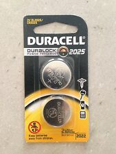 Duracell 2025 Lithium Batteries (twin pack)