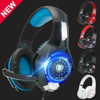 Gaming Headset Mic Stereo Surround Headphone Wireless For PS4 Xbox PC Xboxone