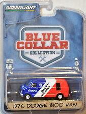 GREENLIGHT BLUE COLLAR COLLECTION 1976 DODGE B100 VAN