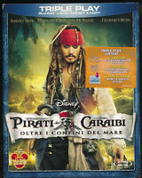 EBOND Pirati dei Caraibi  Oltre i confini del mare BLURAY + DVD + E-COPY D366015