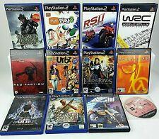 Ps2 Playstation 2 Spiele verschiedenen Optionen wählen ihre voll funktionsfähig
