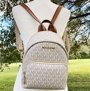 Michael kors Erin SMALL Convertible backpack Crossbody Vanilla MK Signature