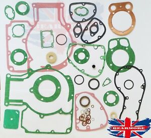 COMPLETE OIL SEALS AND GASKET SET FOR ROYAL ENFIELD BULLET 500cc