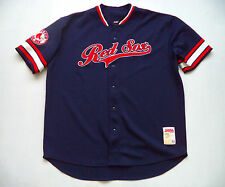 Mens BOSTON RED SOX stadium Jersey sz 2XL major league baseball team batting pro