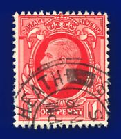 1934 SG440 1d Scarlet (Int Format) N49(1) Good Used ayjo