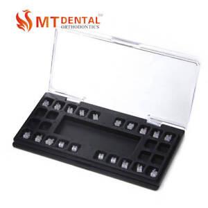 1set Dental Orthodontic Sapphire Brackets Roth Slot.022 345hooks Brace