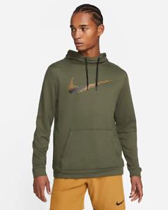 Nike Men's Pullover Training Hoodie Dri-FIT Sweatshirt