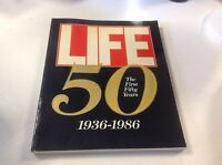 Life Magazine The First Fifty 50 Years 1936-1986 Covers Plus Stories Book