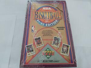 1991-92 Upper Deck NBA Basketball Cards Full Sealed Box x36 packs in UK! Jordan?